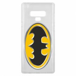 Чехол для Samsung Note 9 Batman Gold Logo