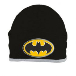 Шапка Batman Gold Logo - FatLine