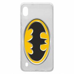 Чехол для Samsung A10 Batman Gold Logo