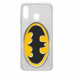 Чехол для Samsung A20 Batman Gold Logo