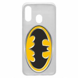 Чехол для Samsung A40 Batman Gold Logo