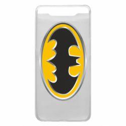 Чехол для Samsung A80 Batman Gold Logo