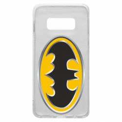 Чехол для Samsung S10e Batman Gold Logo