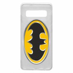 Чехол для Samsung S10 Batman Gold Logo