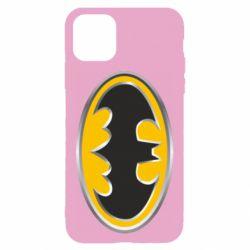 Чехол для iPhone 11 Batman Gold Logo