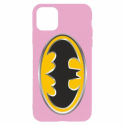 Чехол для iPhone 11 Pro Max Batman Gold Logo