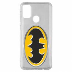 Чехол для Samsung M30s Batman Gold Logo