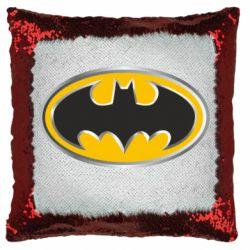 Подушка-хамелеон Batman Gold Logo