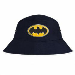 Панама Batman Gold Logo