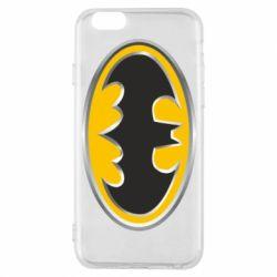 Чехол для iPhone 6/6S Batman Gold Logo
