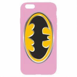 Чехол для iPhone 6 Plus/6S Plus Batman Gold Logo