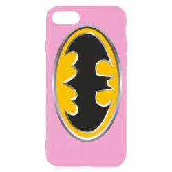 Чехол для iPhone 7 Batman Gold Logo