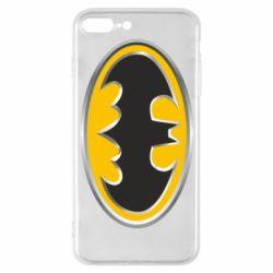 Чехол для iPhone 7 Plus Batman Gold Logo