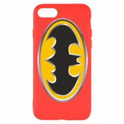 Чехол для iPhone 8 Batman Gold Logo