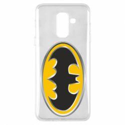 Чехол для Samsung A6+ 2018 Batman Gold Logo