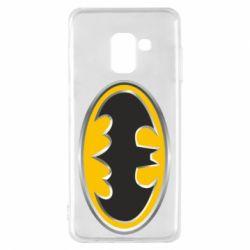 Чехол для Samsung A8 2018 Batman Gold Logo