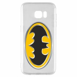 Чехол для Samsung S7 EDGE Batman Gold Logo