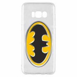Чехол для Samsung S8 Batman Gold Logo
