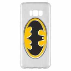 Чехол для Samsung S8+ Batman Gold Logo