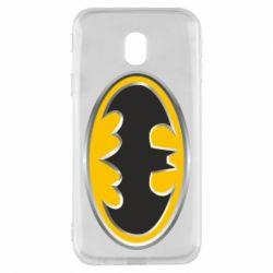 Чехол для Samsung J3 2017 Batman Gold Logo