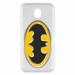 Чехол для Samsung J5 2017 Batman Gold Logo
