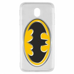 Чехол для Samsung J7 2017 Batman Gold Logo