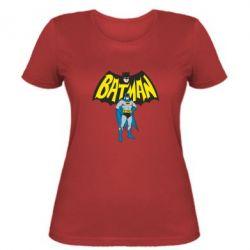 Женская футболка Batman Hero - FatLine