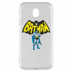 Чехол для Samsung J3 2017 Batman Hero