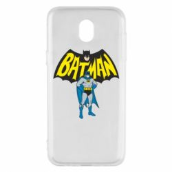 Чехол для Samsung J5 2017 Batman Hero