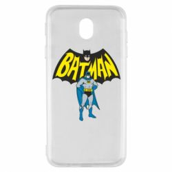 Чехол для Samsung J7 2017 Batman Hero