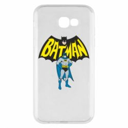Чехол для Samsung A7 2017 Batman Hero