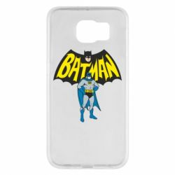 Чехол для Samsung S6 Batman Hero