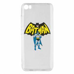 Чехол для Xiaomi Mi5/Mi5 Pro Batman Hero