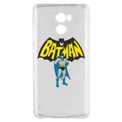 Чехол для Xiaomi Redmi 4 Batman Hero