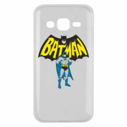 Чехол для Samsung J2 2015 Batman Hero