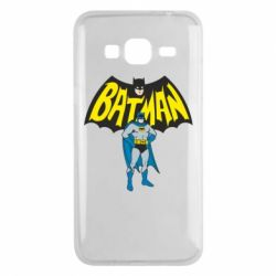 Чехол для Samsung J3 2016 Batman Hero