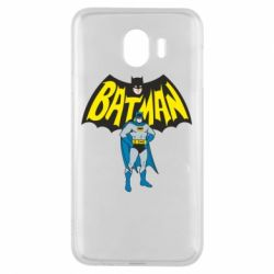 Чехол для Samsung J4 Batman Hero