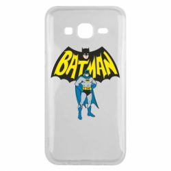 Чехол для Samsung J5 2015 Batman Hero