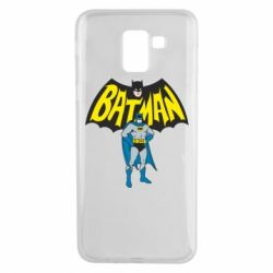 Чехол для Samsung J6 Batman Hero