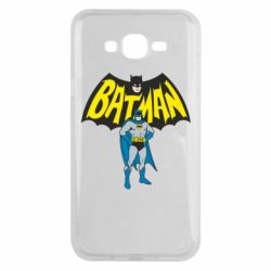 Чехол для Samsung J7 2015 Batman Hero