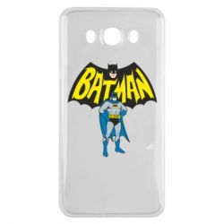 Чехол для Samsung J7 2016 Batman Hero