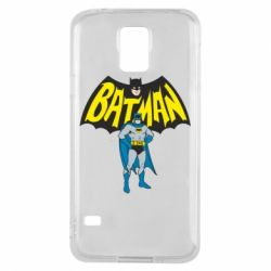 Чехол для Samsung S5 Batman Hero