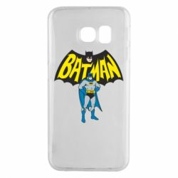 Чехол для Samsung S6 EDGE Batman Hero
