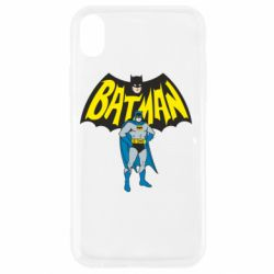 Чехол для iPhone XR Batman Hero
