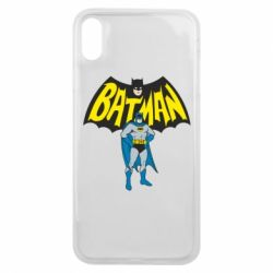 Чехол для iPhone Xs Max Batman Hero