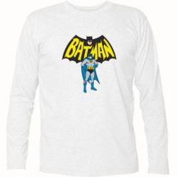 Футболка с длинным рукавом Batman Hero - FatLine