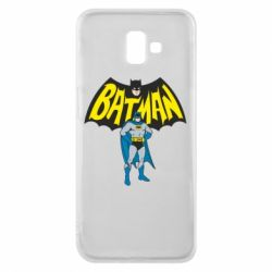 Чехол для Samsung J6 Plus 2018 Batman Hero