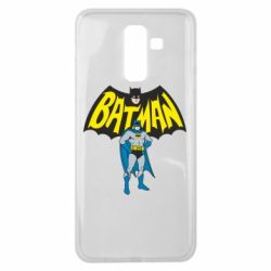 Чехол для Samsung J8 2018 Batman Hero