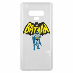 Чехол для Samsung Note 9 Batman Hero