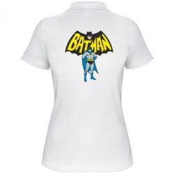 Женская футболка поло Batman Hero - FatLine